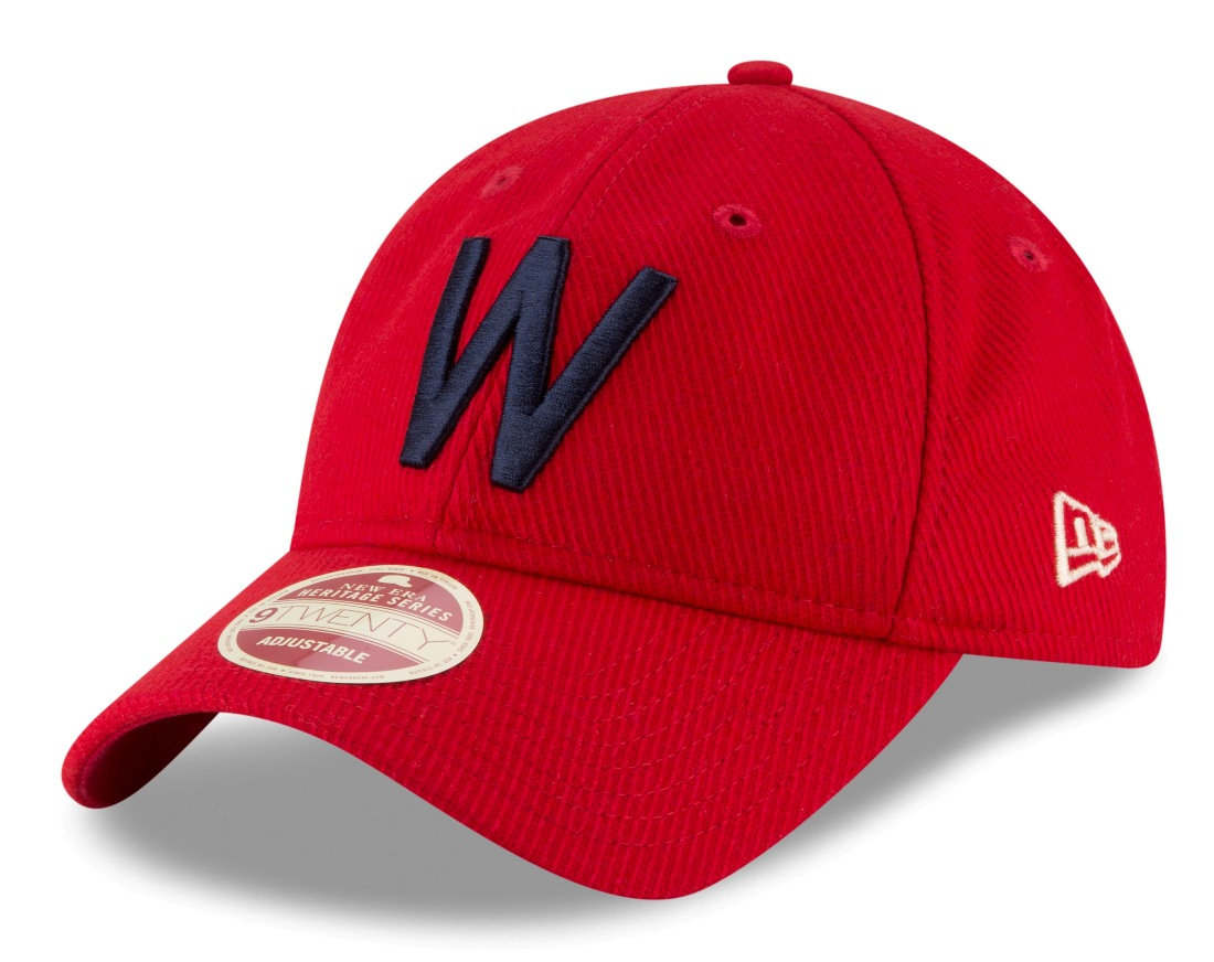"Washington Senators New Era MLB 9Twenty Cooperstown ""Team Front"" Adjustable Hat"