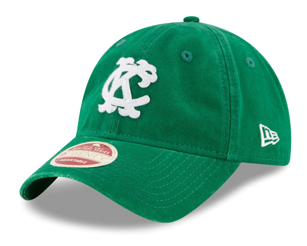 "Kansas City Athletics New Era 9Twenty Cooperstown ""Rugged Patch"" Adjustable Hat"
