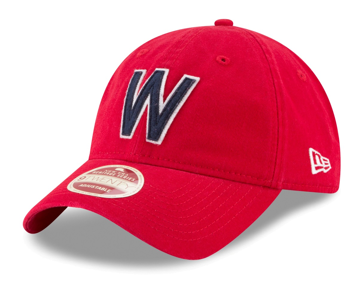 Washington Senators New Era MLB 9Twenty Cooperstown Rugged Patch Adjustable Hat