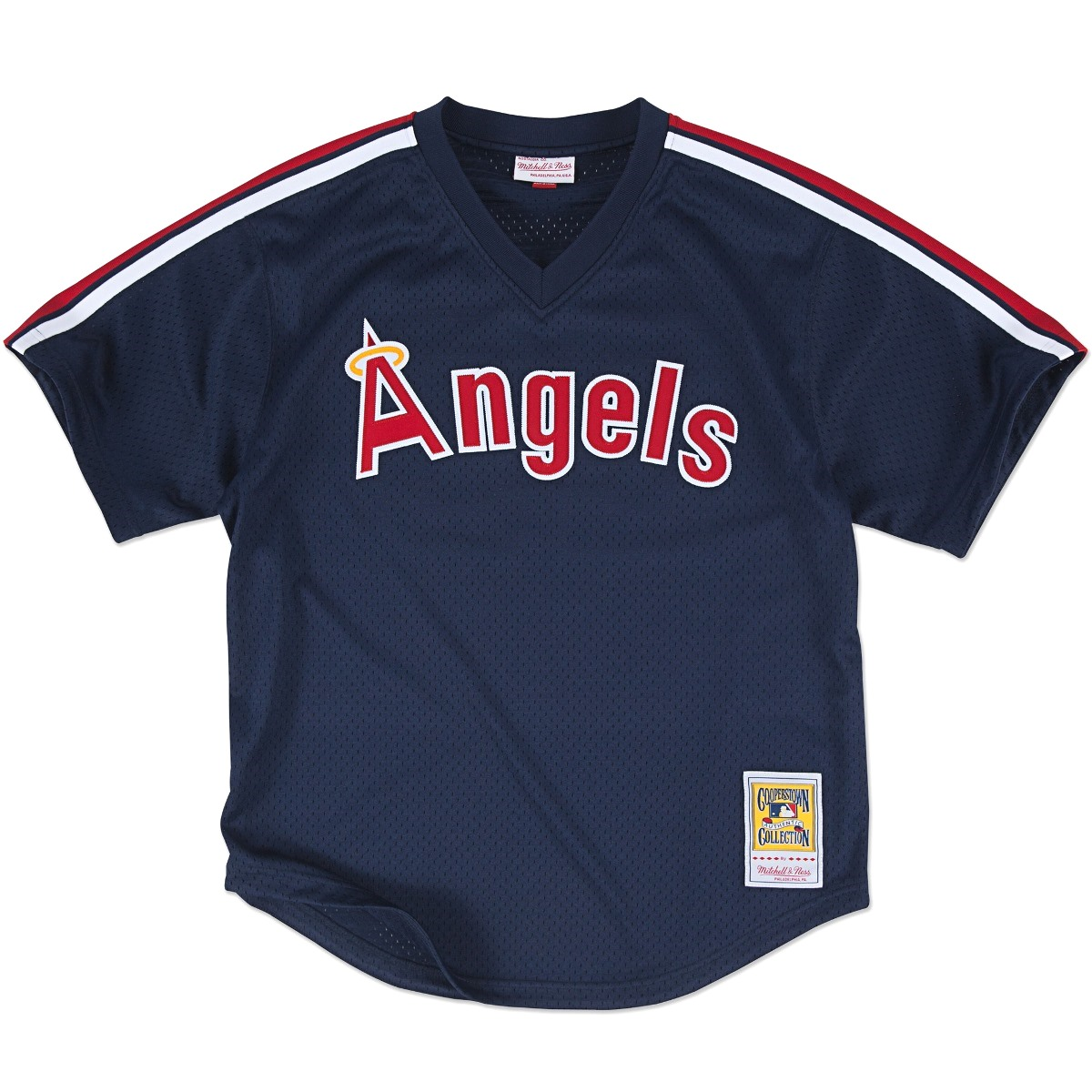 Reggie Jackson California Angels Mitchell & Ness Authentic 1984 BP Jersey