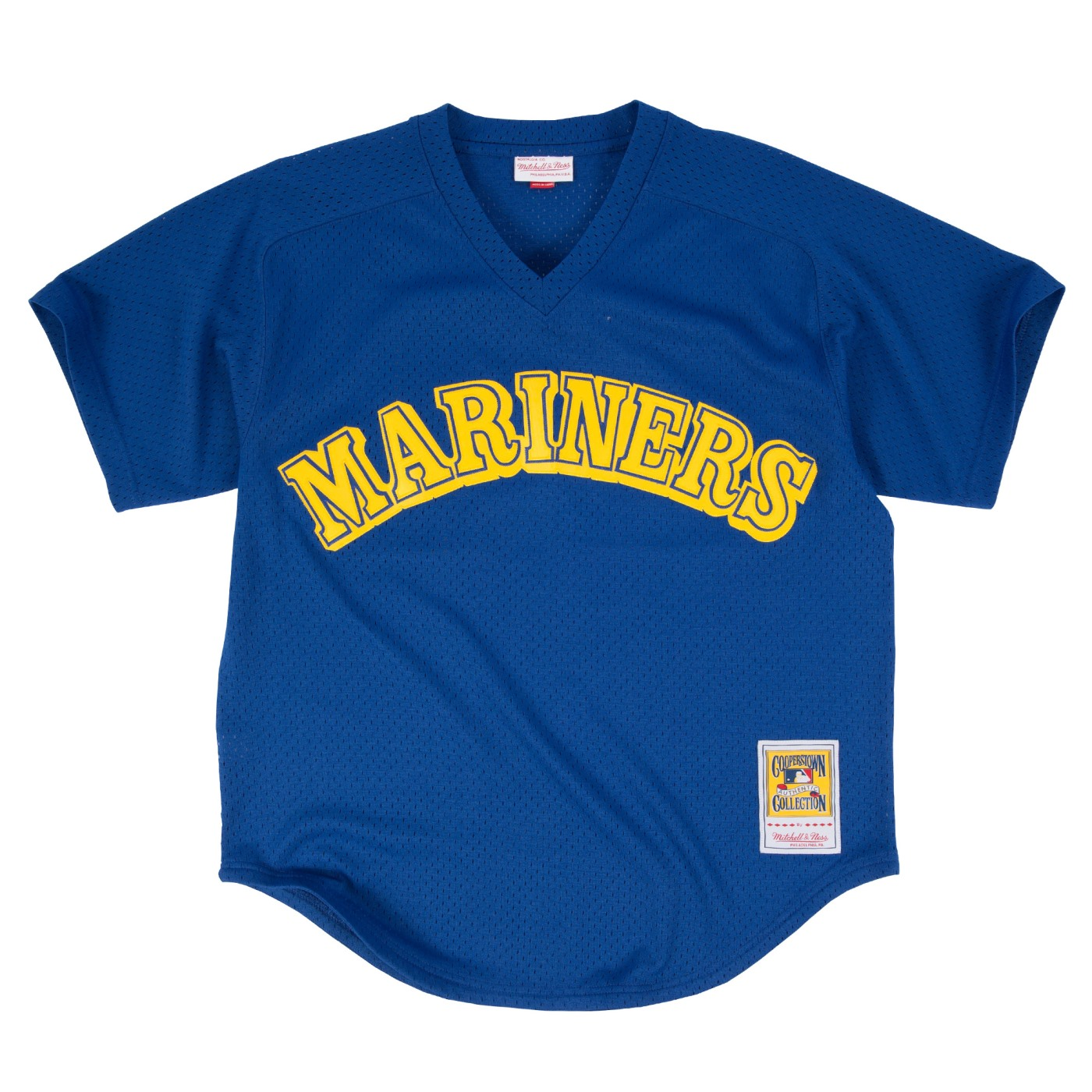 Ken Griffey Jr. Seattle Mariners Mitchell & Ness Authentic 1991 BP Jersey - Blue