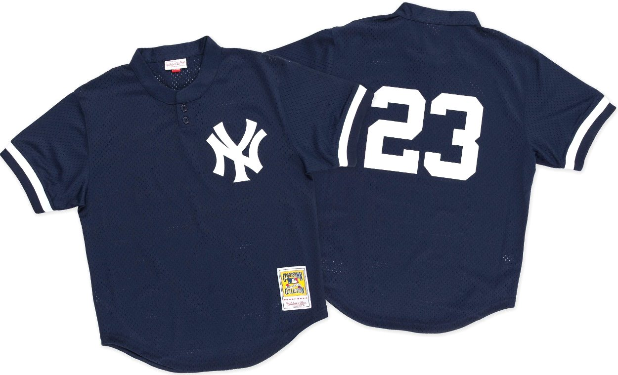 Don Mattingly New York Yankees Mitchell & Ness Authentic 1995 BP Jersey
