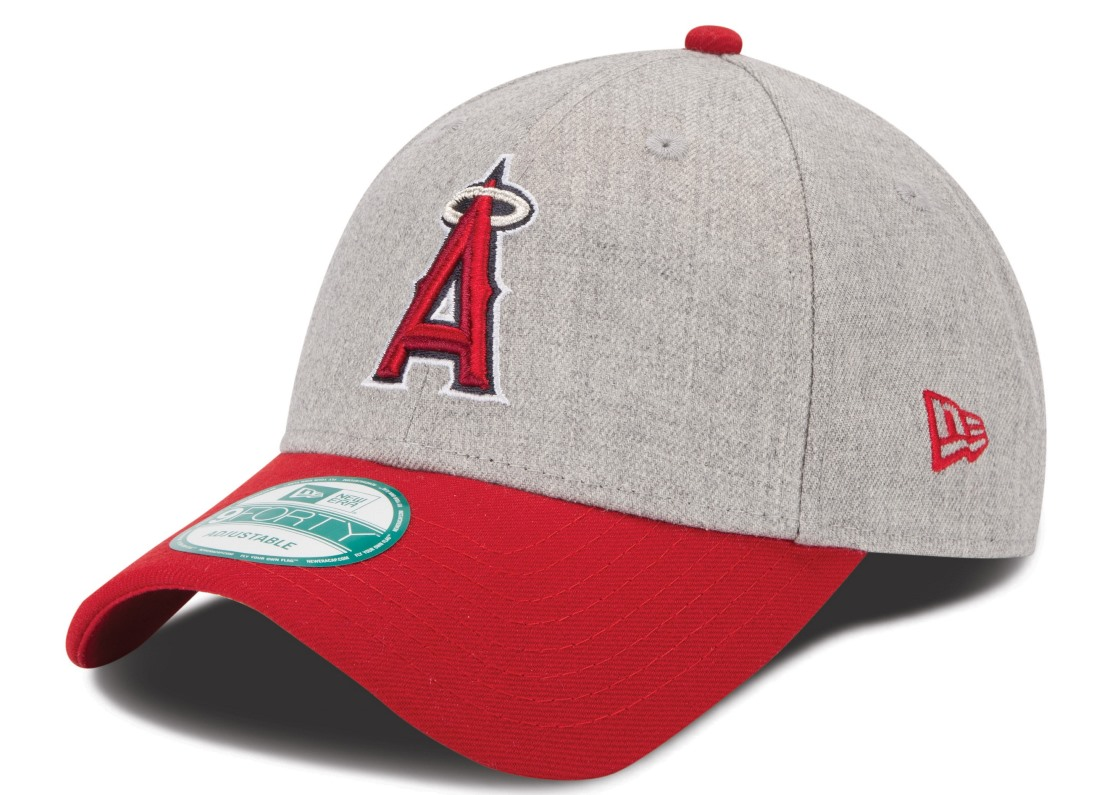 "Los Angeles Angels New Era 9Forty MLB ""The League Heather"" Adjustable Hat"