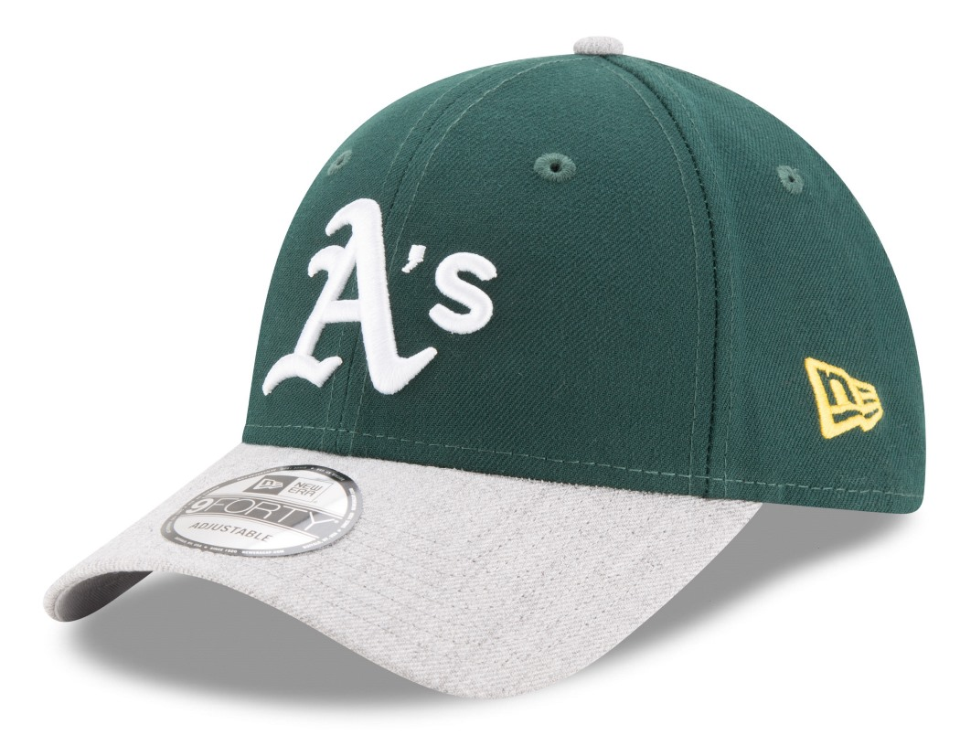 "Oakland Athletics New Era 9Forty MLB ""The League Heather 2"" Adjustable Hat"