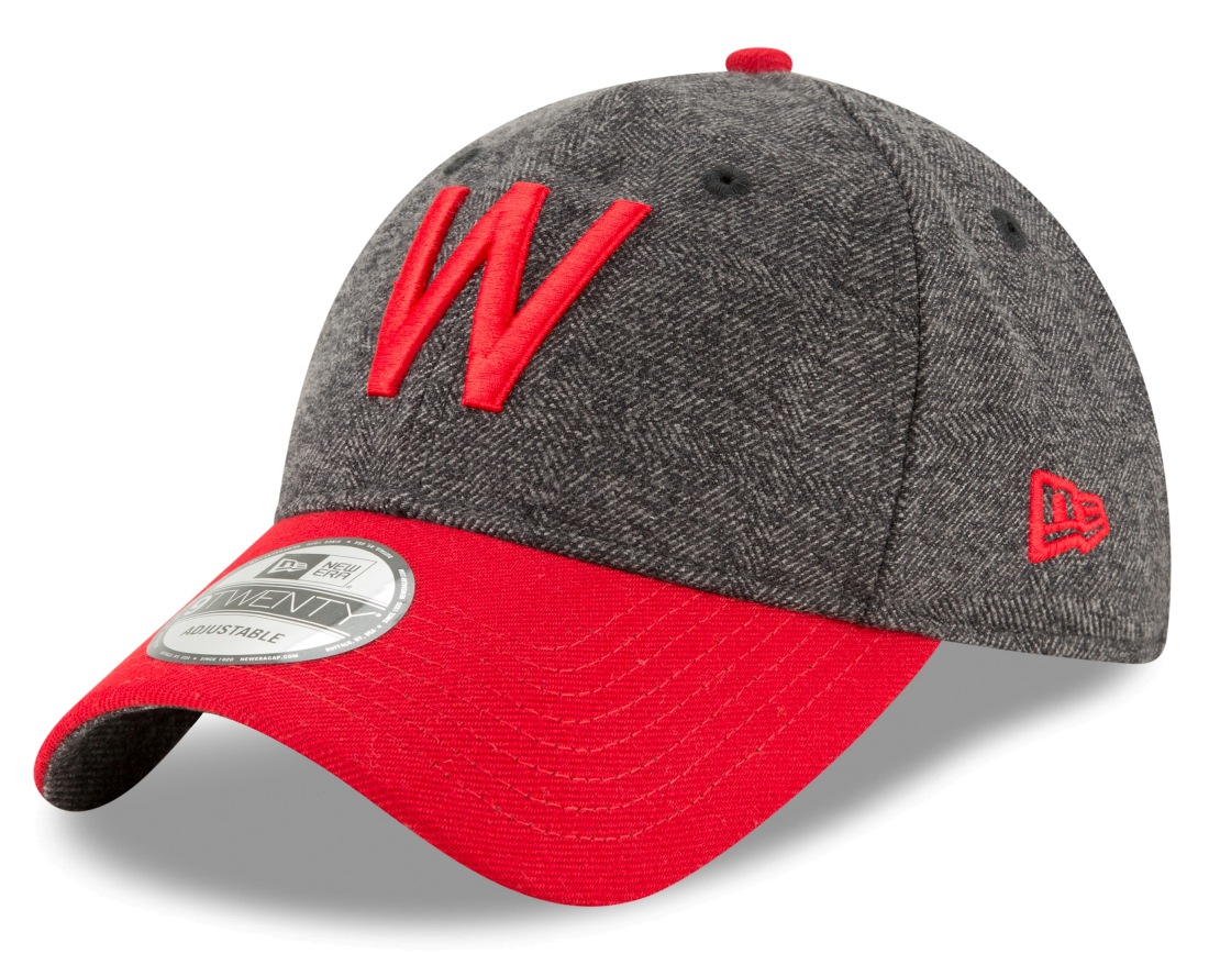 "Washington Senators New Era MLB 9Twenty ""Cooperstown Tweed Turn"" Adjustable Hat"