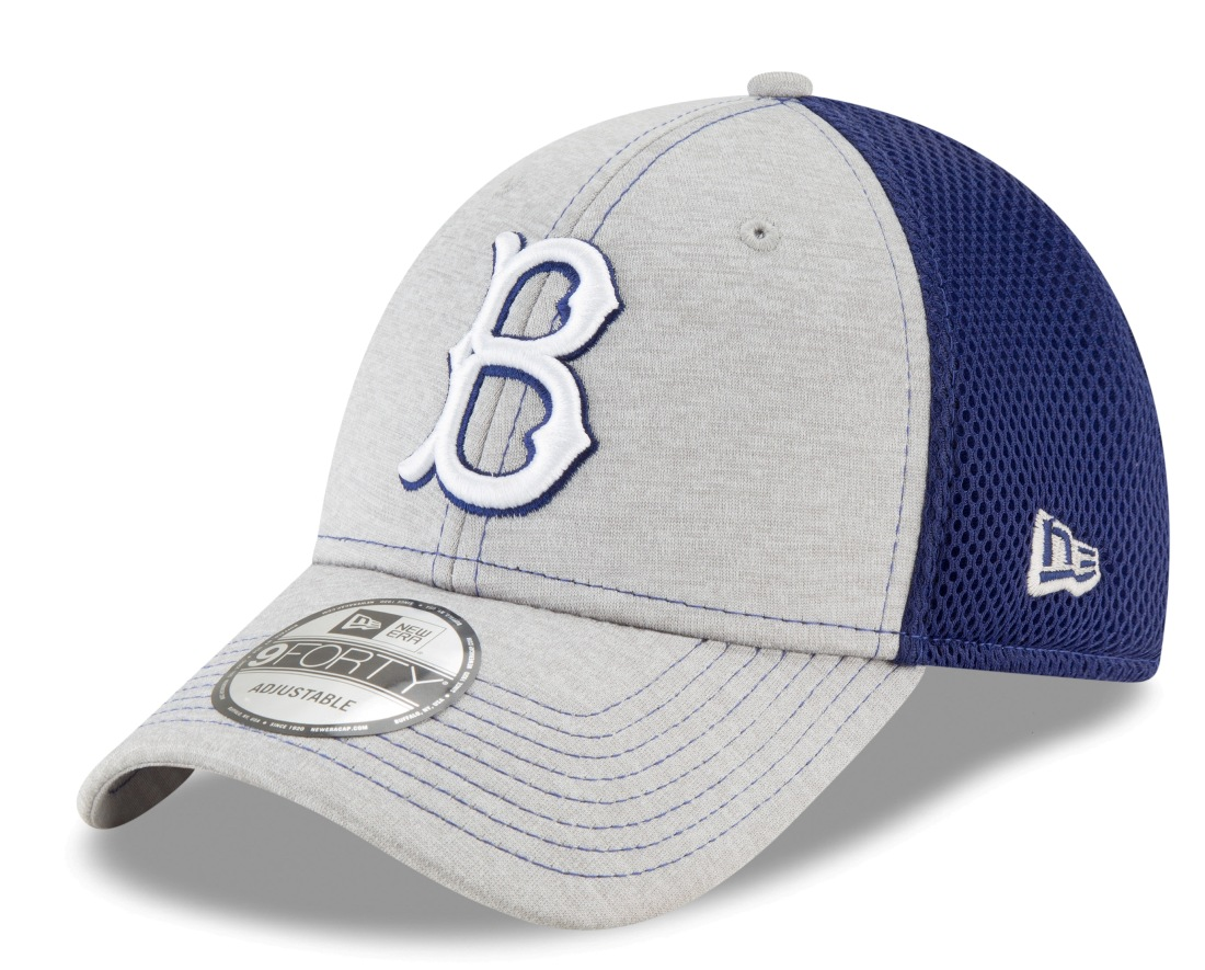 "Brooklyn Dodgers New Era 9Forty MLB Cooperstown ""Shadow Turn 2"" Adjustable Hat"