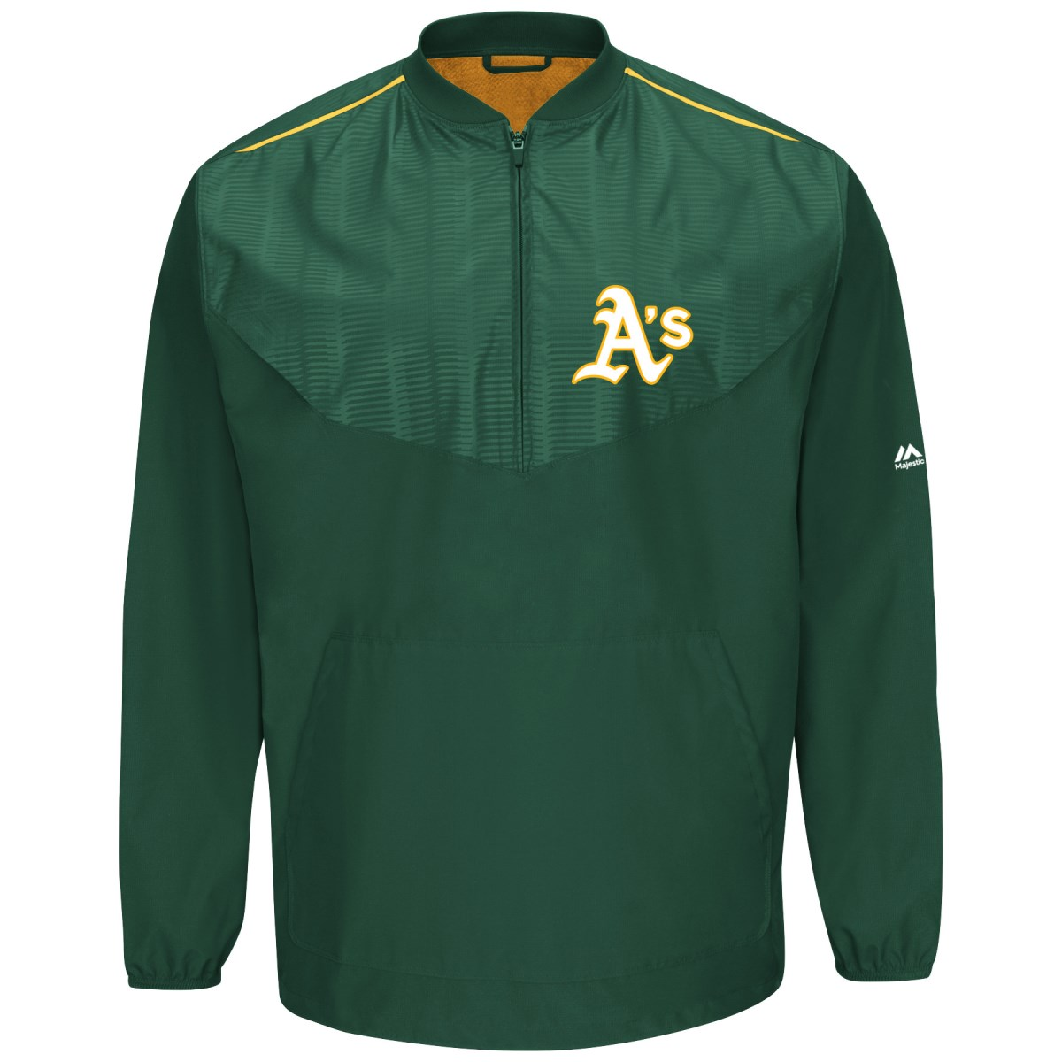 Oakland Athletics Majestic MLB Authentic Cool Base On-Field Training Jacket