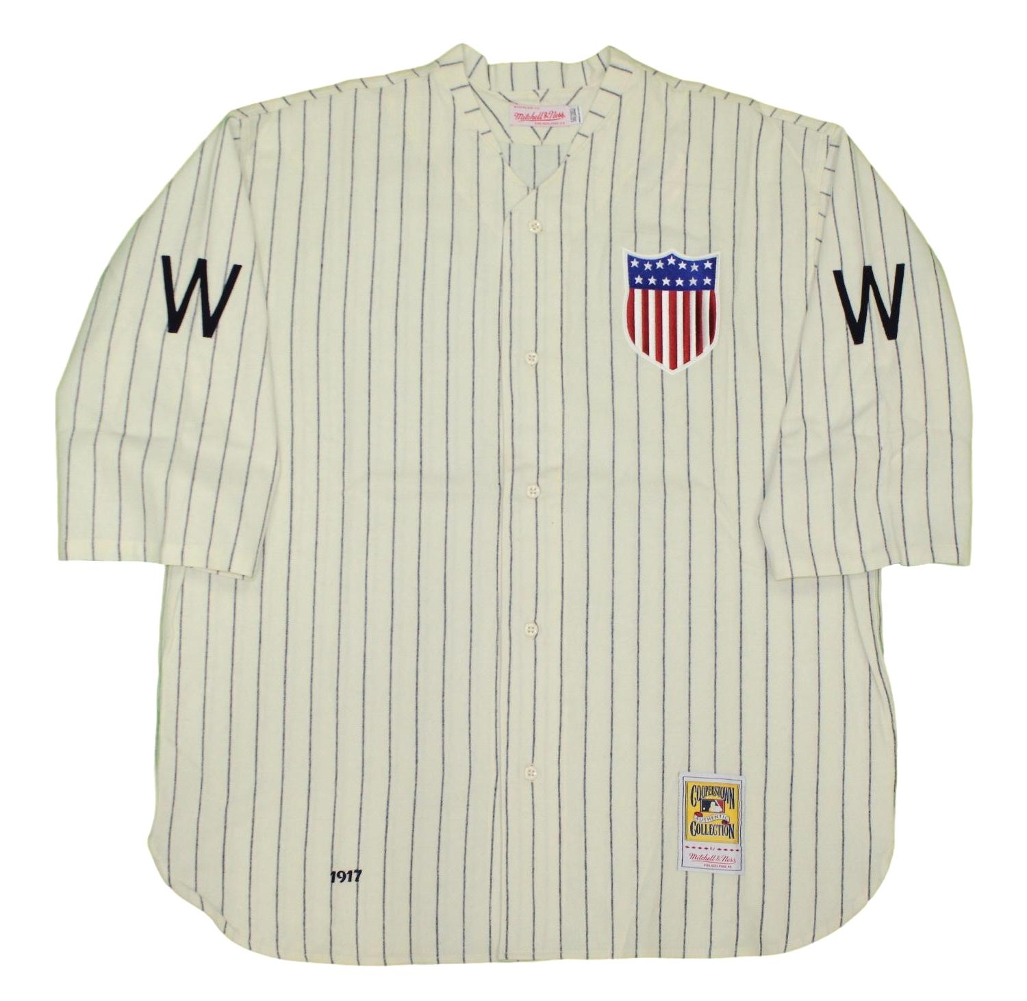 Washington Senators Mitchell & Ness MLB Authentic 1917 Jersey - 3XL/56