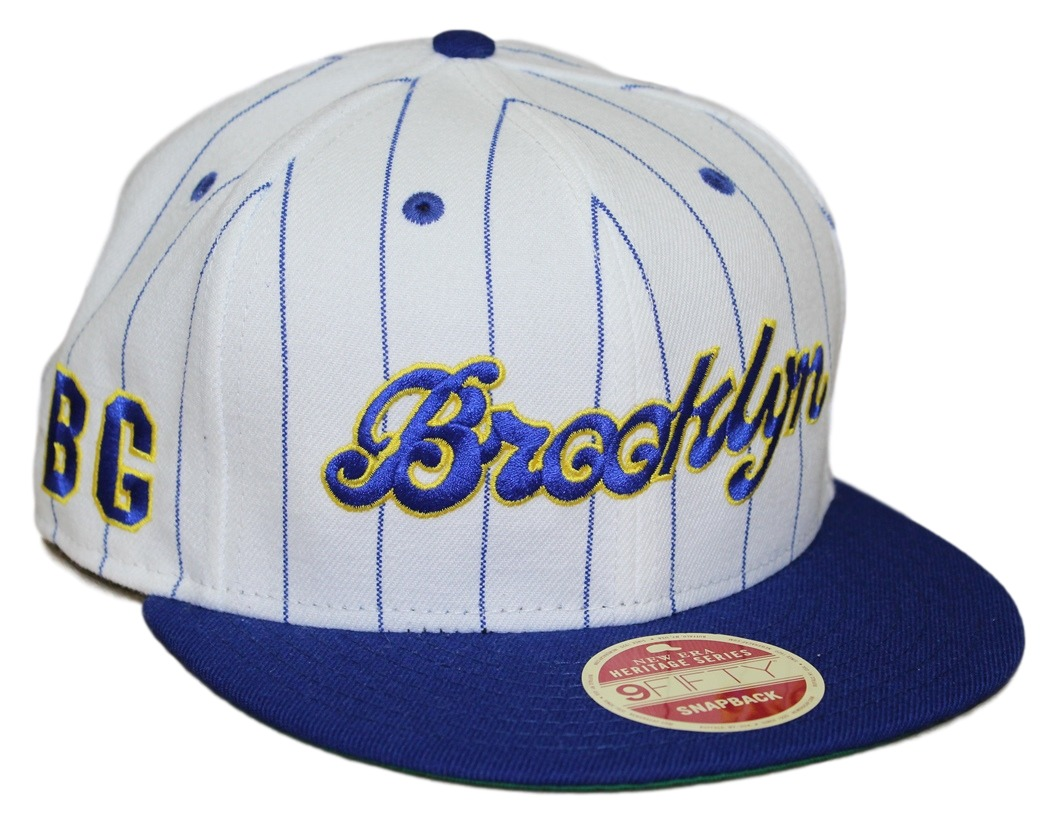 "Brooklyn Black Giants New Era 9FIFTY Negro League ""Striped Jerz"" Snapback Hat"