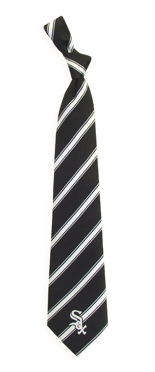 "Chicago White Sox MLB ""Woven Poly 1"" Men's Woven Polyester Tie"