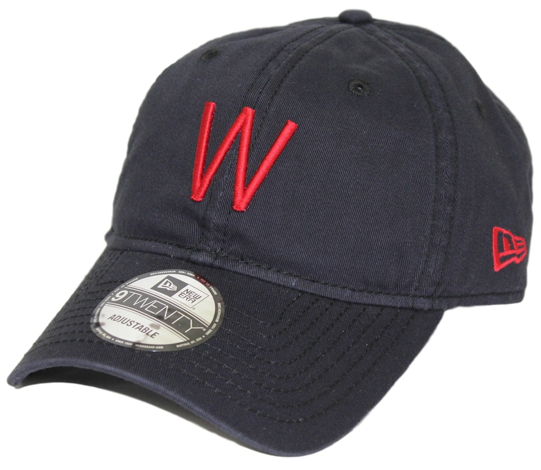 Washington Senators New Era MLB 9Twenty Cooperstown Adjustable Navy Hat