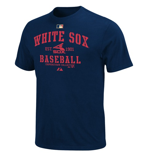 Chicago White Sox Majestic Cooperstown Classic Navy T-Shirt