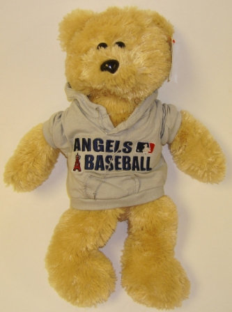 Los Angeles Angels MLB Large 14'' Plush Bear