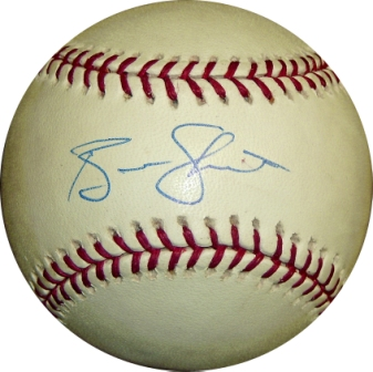 Ben Sheets Signed Official Major League Baseball
