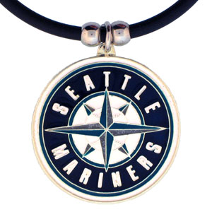 MLB Logo Necklace - Seattle Mariners