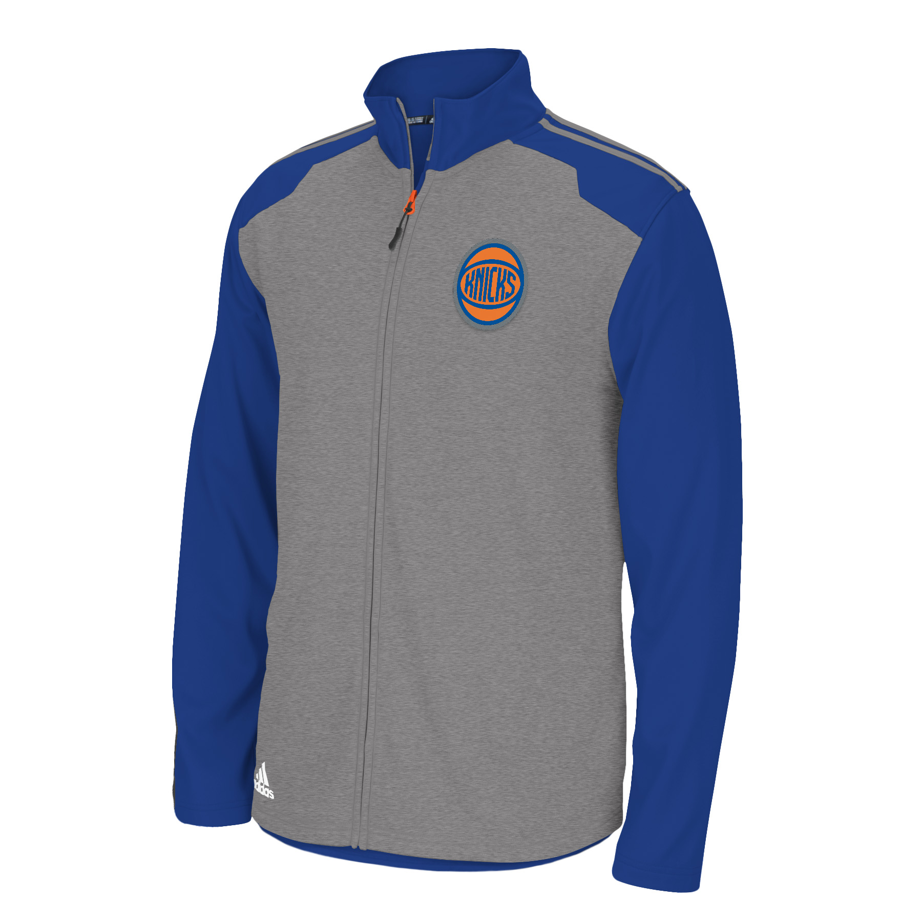 New York Knicks Adidas 2014 NBA Climawarm Full Zip Men's Fleece Jacket