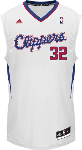 Blake Griffin Adidas NBA Los Angeles Clippers Revolution Replica Jersey - White
