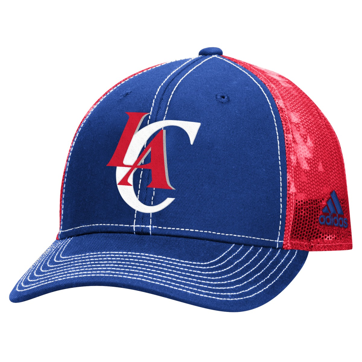 "Los Angeles Clippers Adidas NBA ""City Pulse"" Structured Adjustable Hat"