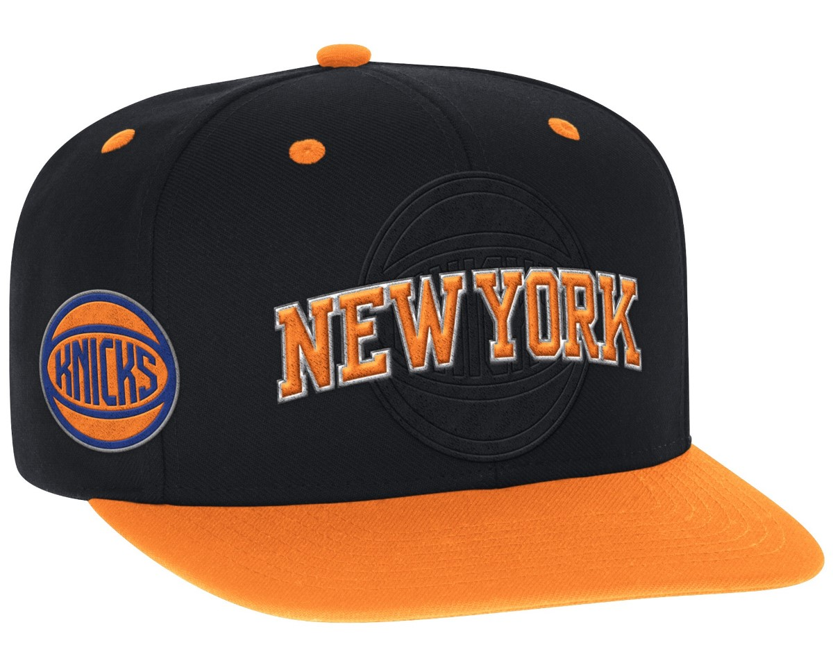 New York Knicks Adidas 2016 NBA Draft Day Authentic Snap Back Hat