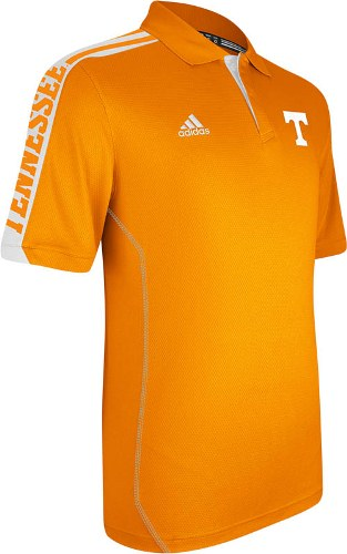 Tennessee Volunteers Adidas 2012 Sideline Swagger Orange Performance Polo Shirt