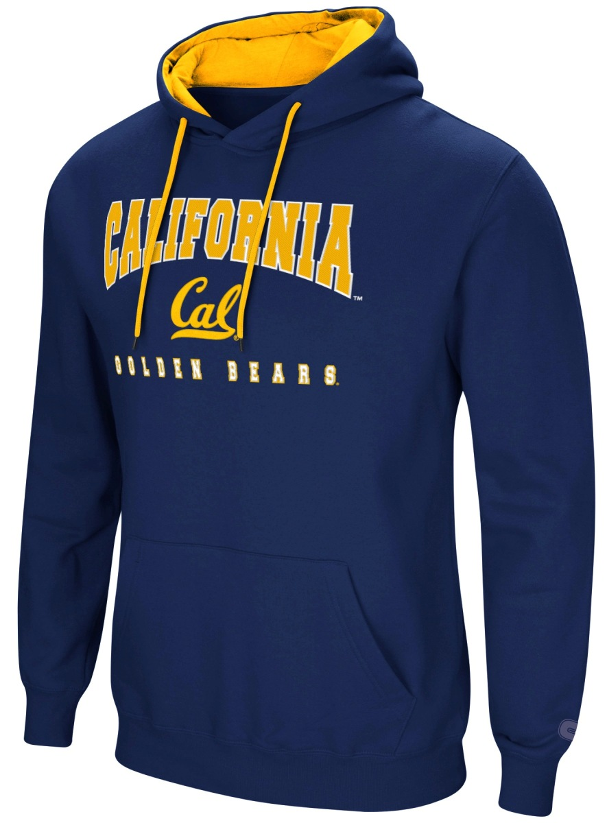 "California Golden Bears NCAA ""Playbook"" Pullover Hooded Men's Sweatshirt - Navy"