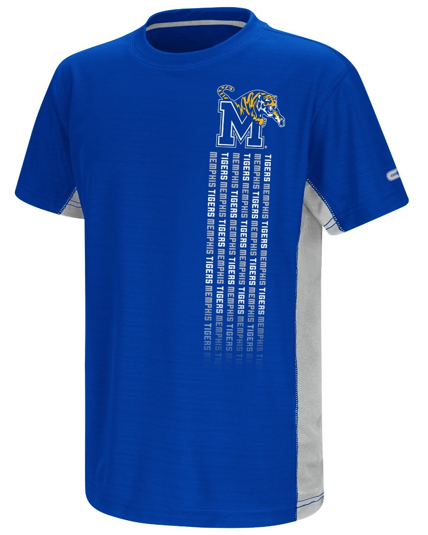 "Memphis Tigers NCAA ""Power Set"" Youth Short Sleeve Performance T-Shirt"