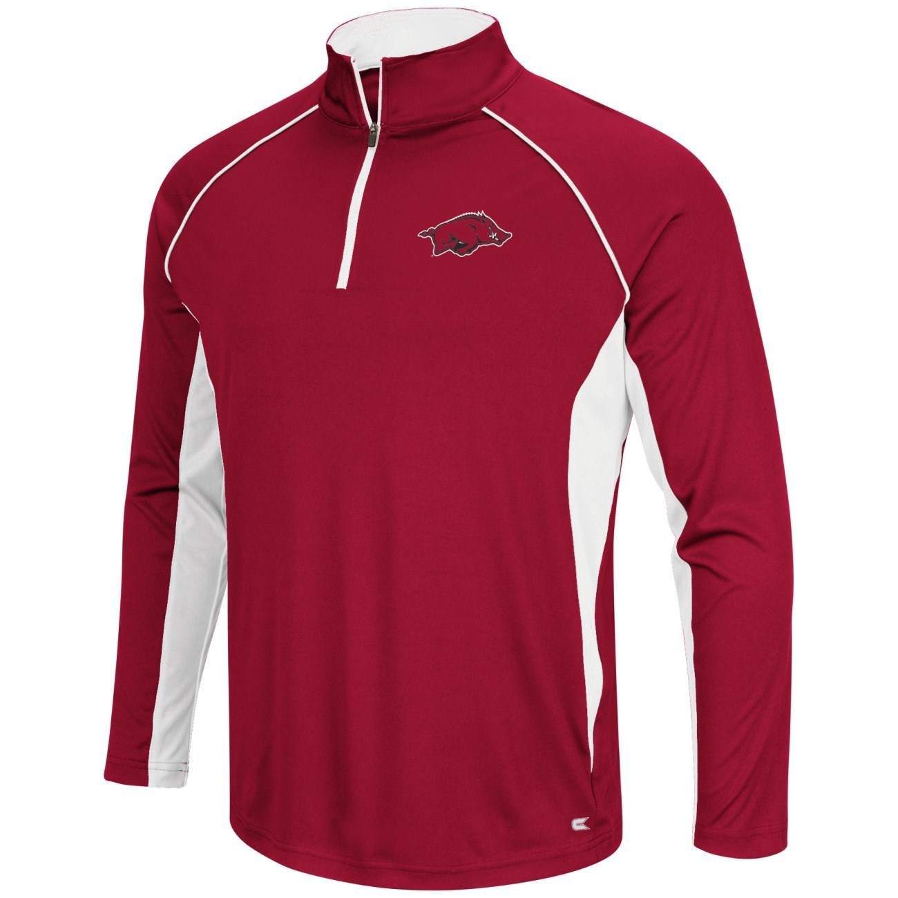 "Arkansas Razorbacks NCAA ""Airstream"" 1/4 Zip Pullover Men's Wind Shirt"