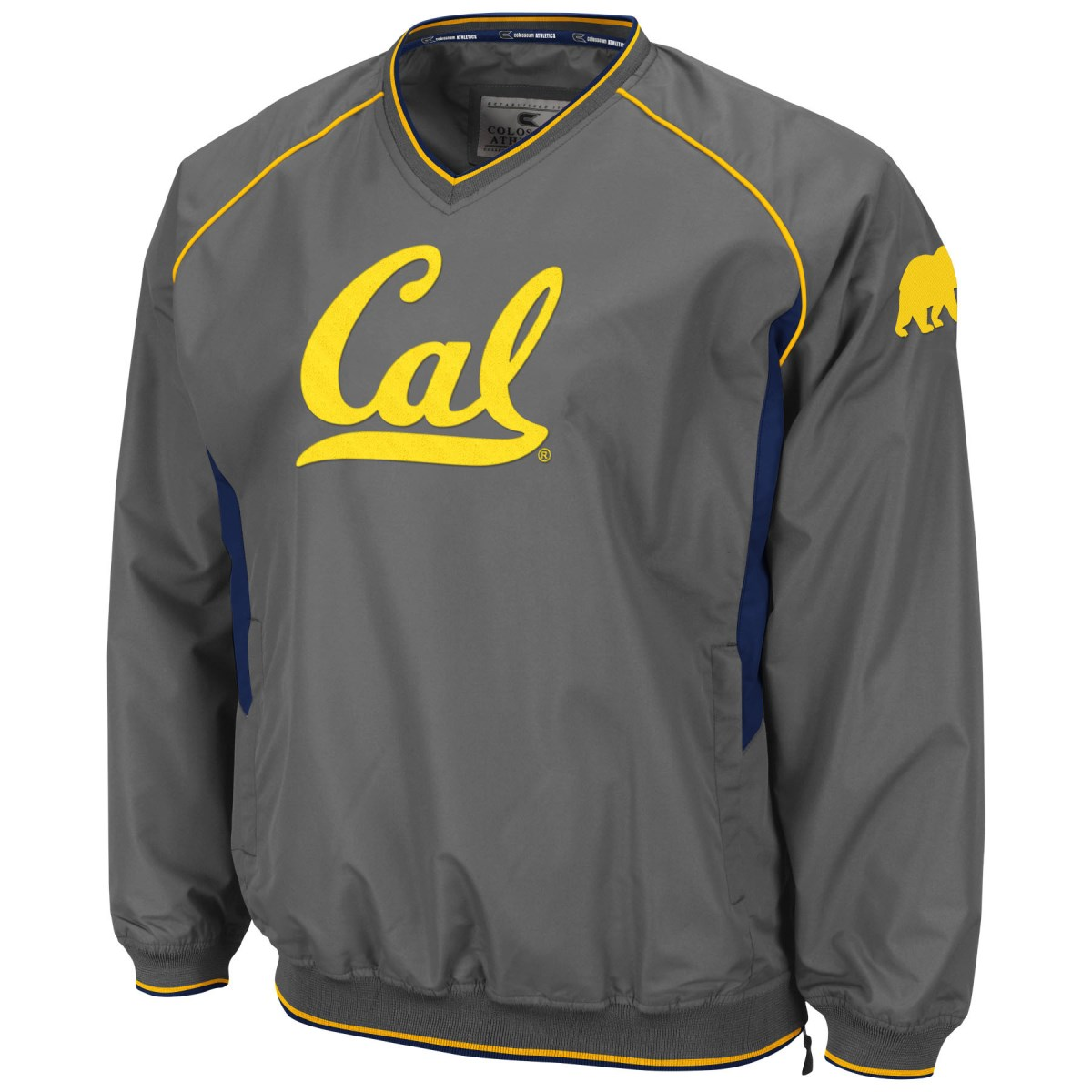 California Golden Bears NCAA 2014 Pitch Pullover Jacket - Charcoal