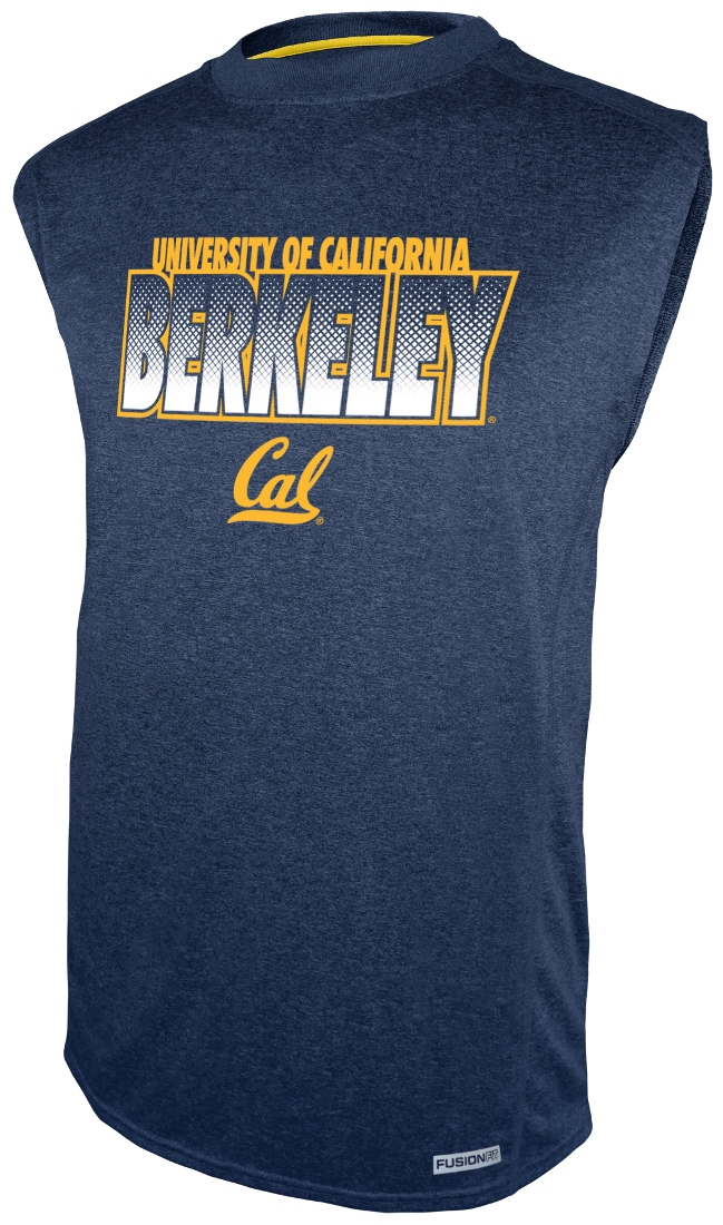"California Golden Bears Majestic NCAA ""Big Jam"" Sleeveless Performance Shirt"