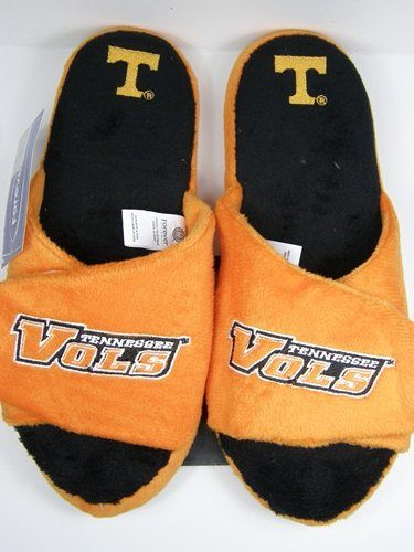 Tennessee Volunteers 2011 Open Toe Two Tone Hard Sole Slippers