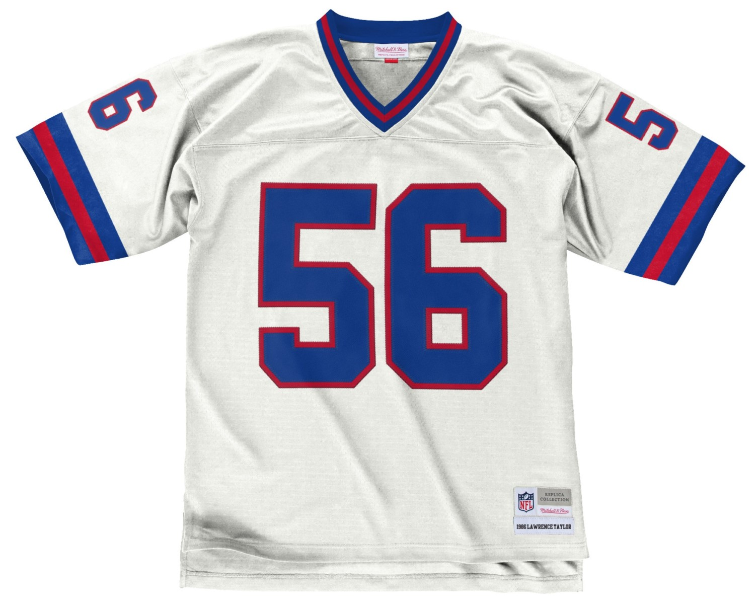 Lawrence Taylor New York Giants Men's NFL Mitchell & Ness Premier White Jersey