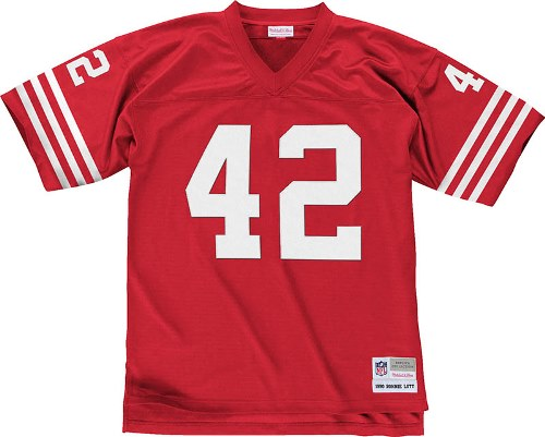Ronnie Lott San Francisco 49ers Mitchell & Ness Throwback Premier Jersey - Red