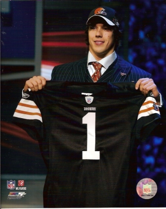 Brady Quinn NFL Draft Browns 8x10 Color Photo