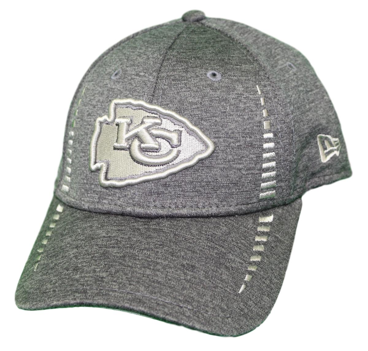 "Kansas City Chiefs New Era 9Forty NFL ""Graphite Shadow Speed"" Adjustable Hat"