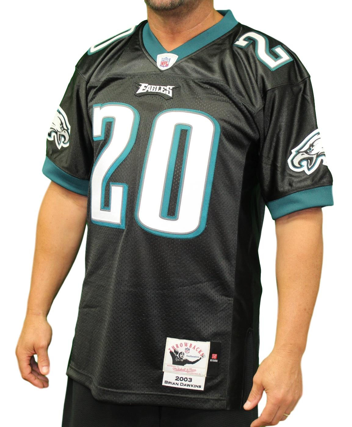 Brian Dawkins Philadelphia Eagles NFL Mitchell & Ness Authentic 2003 Jersey