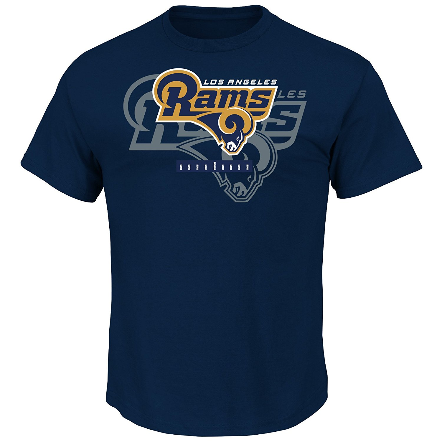 "Los Angeles Rams Majestic NFL ""Of Great Value"" Men's Short Sleeve T-Shirt"