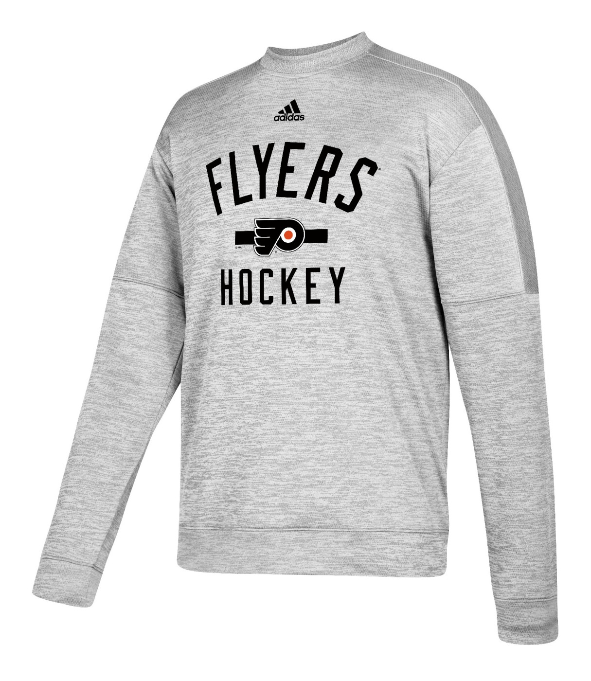 "Philadelphia Flyers Adidas NHL Men's ""Archer"" Crewneck Fleece Sweatshirt"