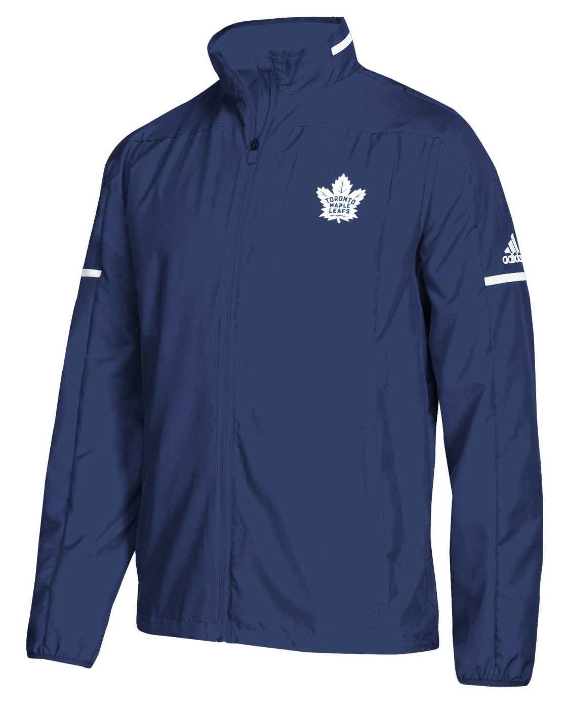 "Toronto Maple Leafs Adidas NHL Men's ""Penalty Box"" Full Zip Rink Jacket"