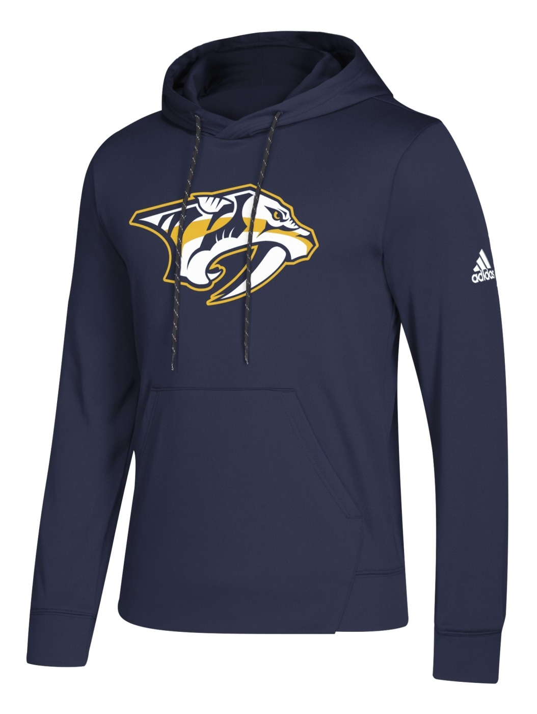 "Nashville Predators Adidas NHL Men's ""Goalie"" Pullover Hooded Sweatshirt"