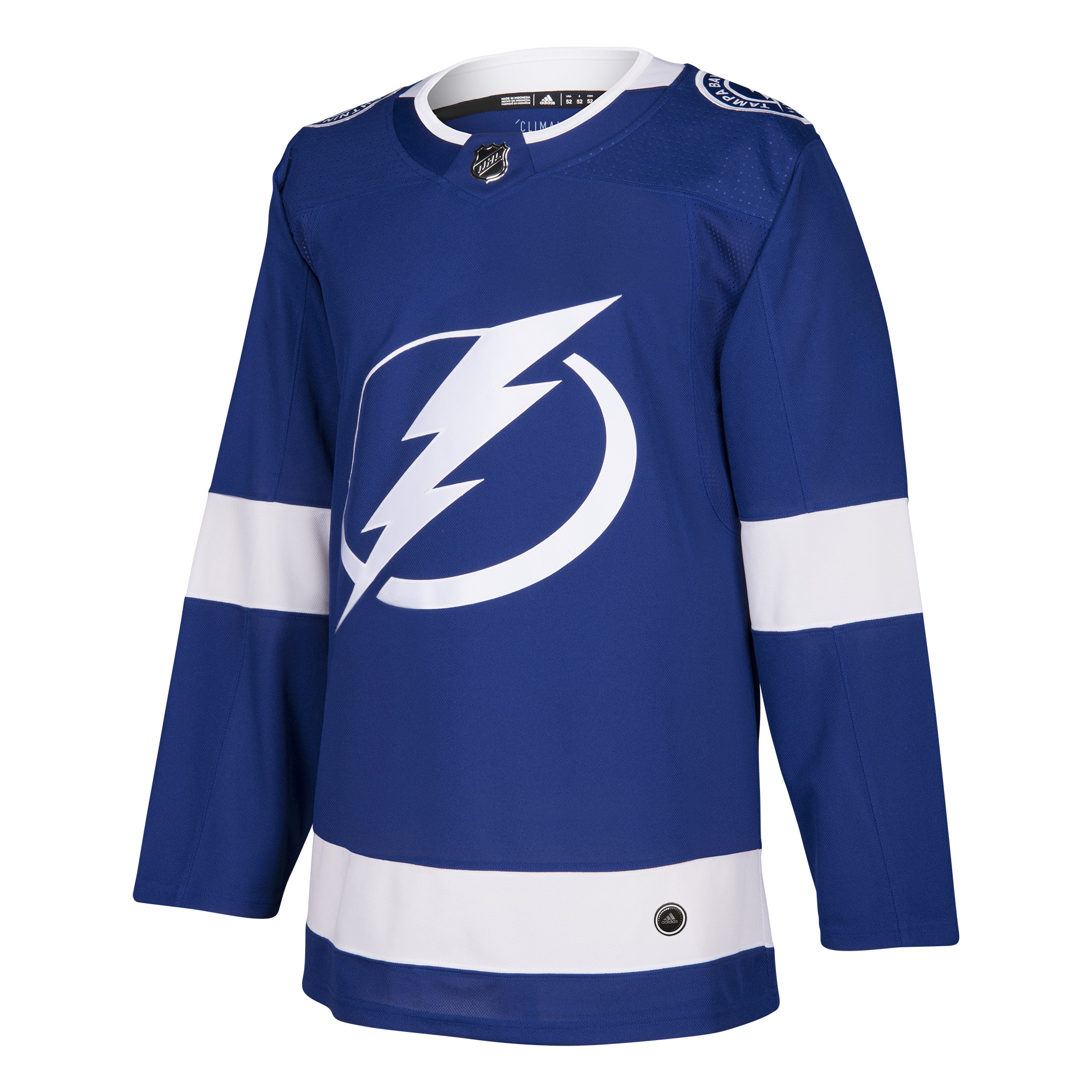 Tampa Bay Lightning Adidas NHL Men's Climalite Authentic Team Hockey Jersey