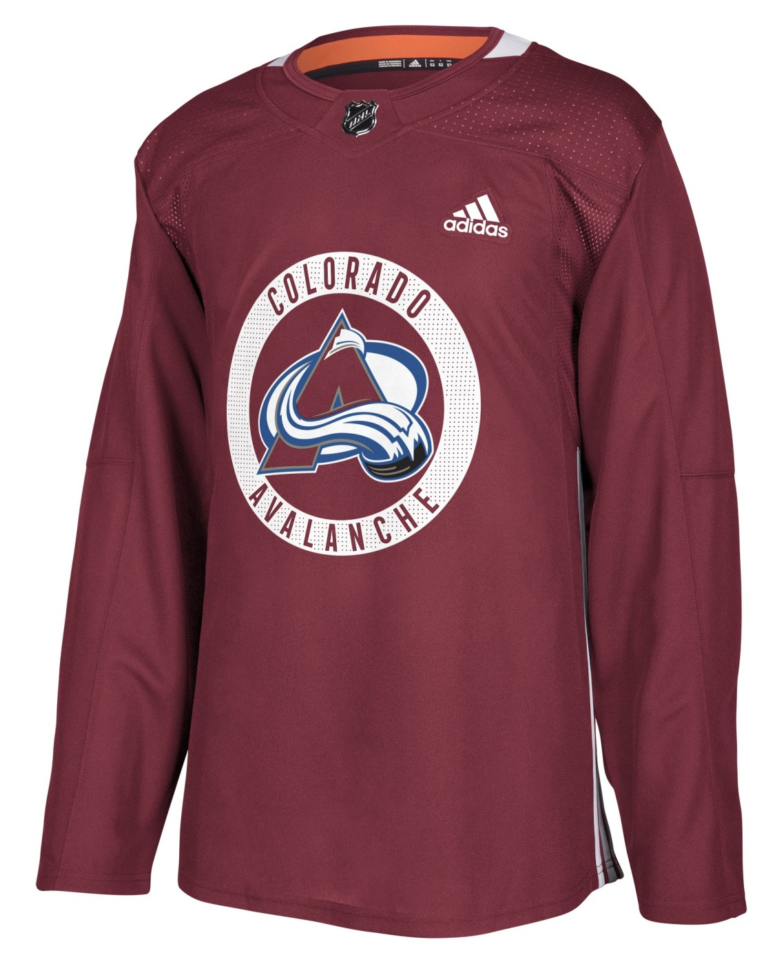 Colorado Avalanche Adidas NHL Men's Climalite Authentic Practice Jersey
