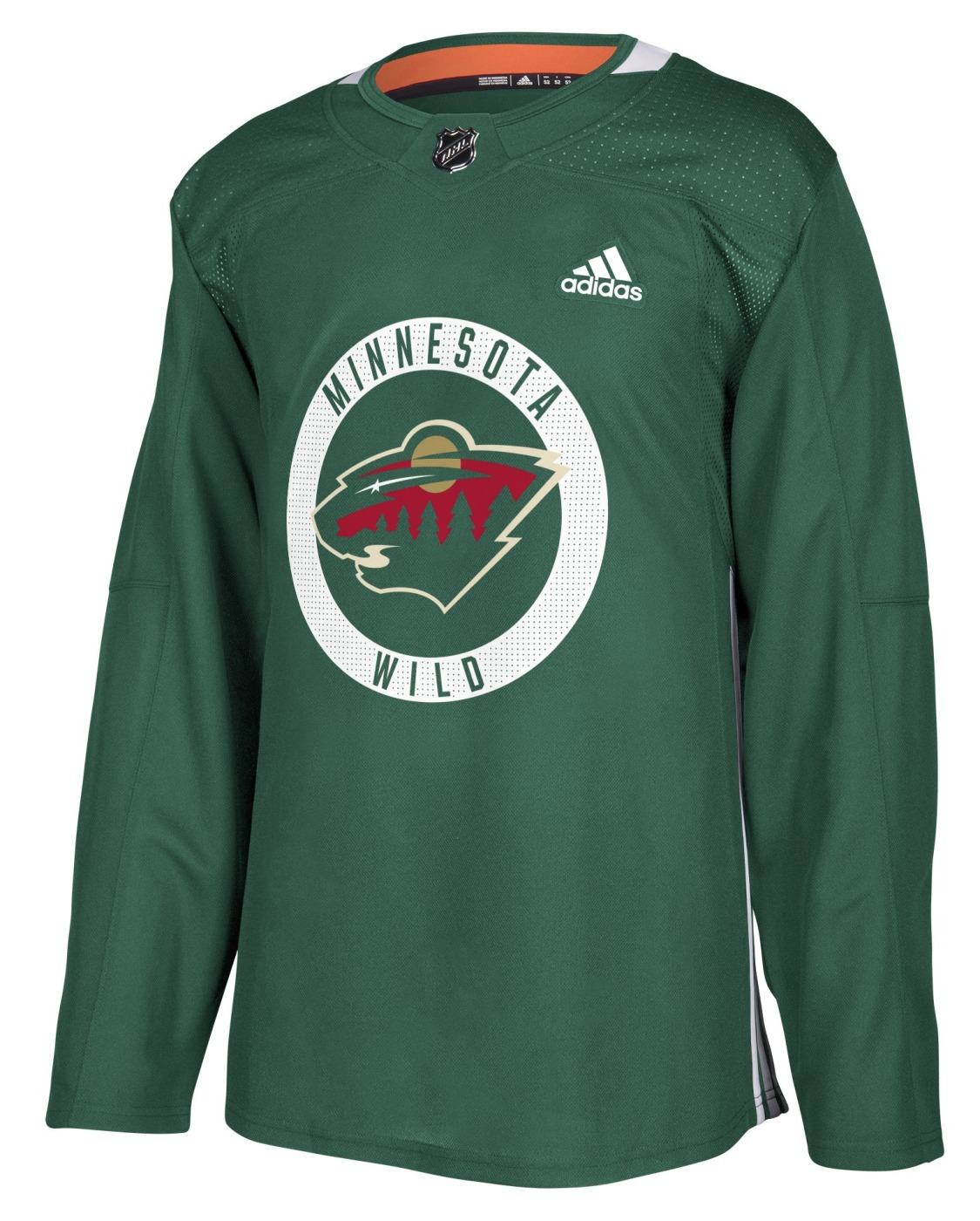 Minnesota Wild Adidas NHL Men's Climalite Authentic Practice Jersey
