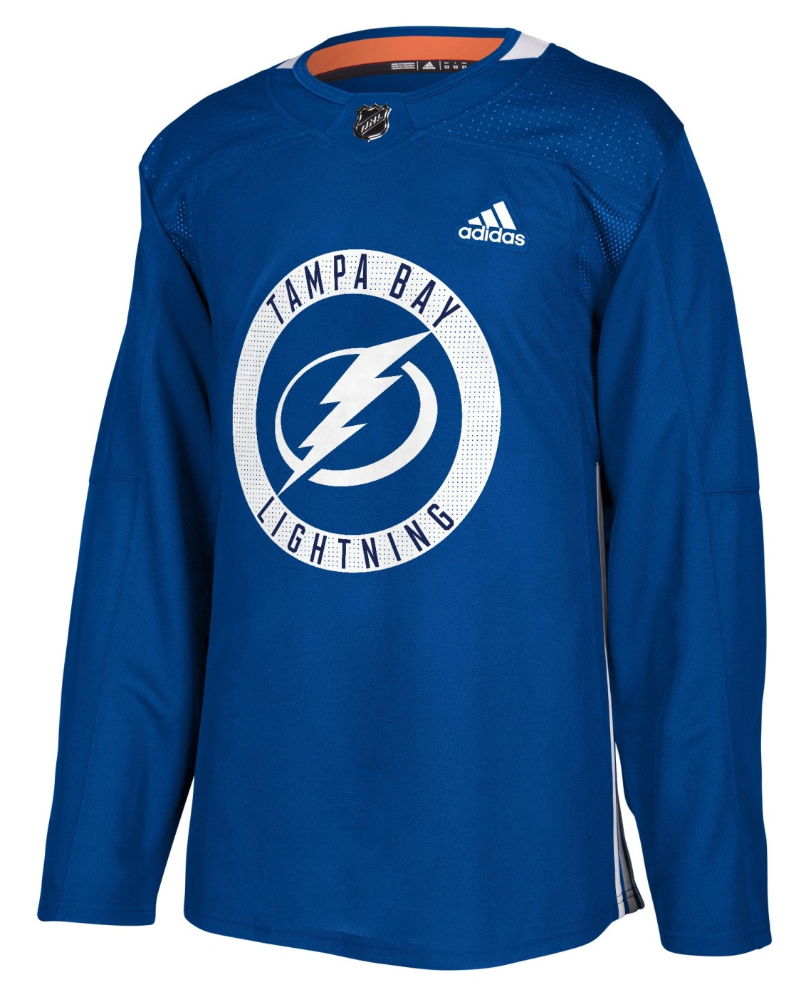 Tampa Bay Lightning Adidas NHL Men's Climalite Authentic Practice Jersey