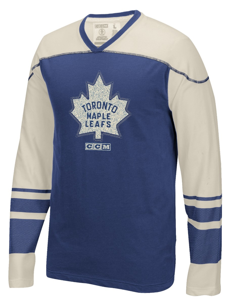 "Toronto Maple Leafs CCM NHL ""Better Days"" Men's Long Sleeve Crew Shirt"