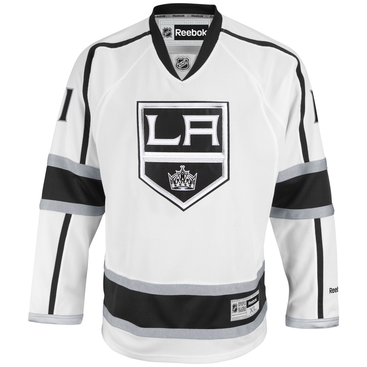 Anze Kopitar Los Angeles Kings White Reebok NHL Premier Jersey