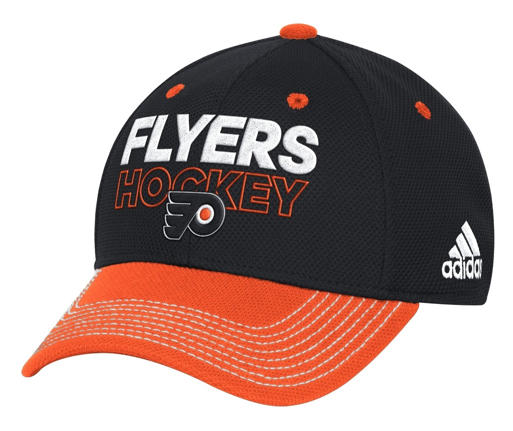 Philadelphia Flyers Adidas NHL Authentic Locker Room Structured Flex Hat