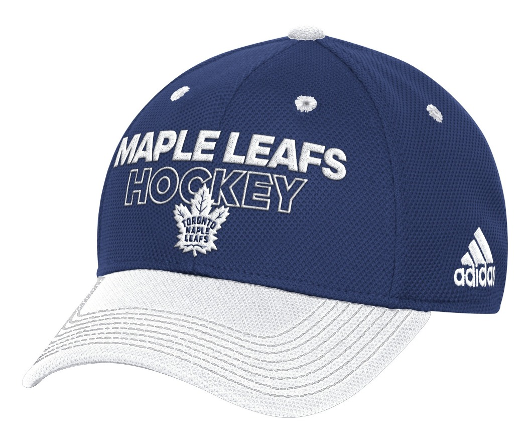 Toronto Maple Leafs Adidas NHL Authentic Locker Room Structured Flex Hat