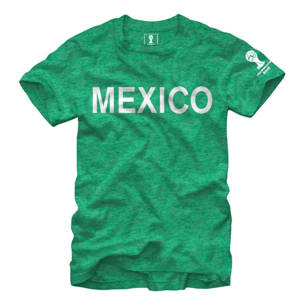 "Mexico FIFA 2014 World Cup Soccer ""Bold Across"" Men's Dual Blend T-Shirt"
