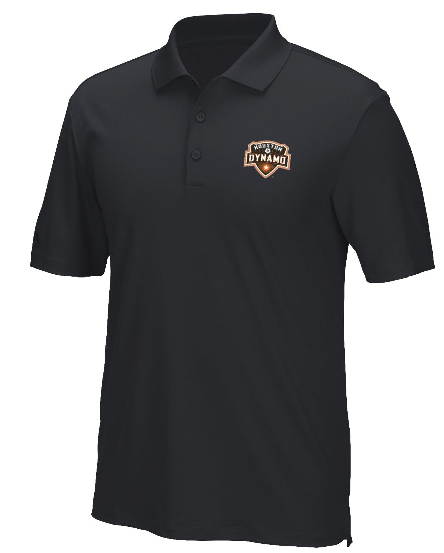 "Houston Dynamo Adidas MLS Men's ""Performance"" Climacool Polo Shirt"