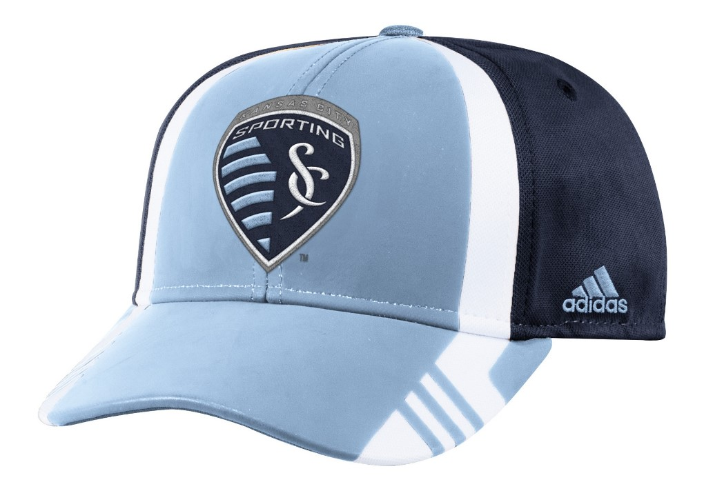 Sporting Kansas City Adidas MLS 2017 Authentic Team Structured Adjustable Hat